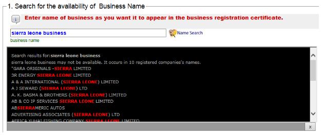 businesssal